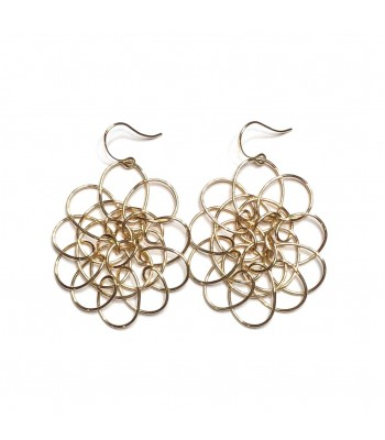 Large Peri Earrings in Gold