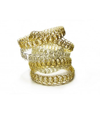 Non-Jangle Bangle in Gold
