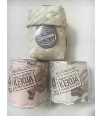 Kekua handmade artisanal hot chocolate package.