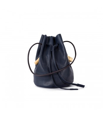 Ocean Blue Bucket Bag