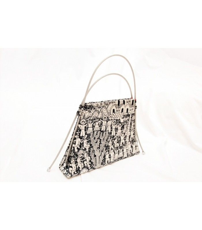 Trapeze Bag Pineda Covalin Xalitla in Black