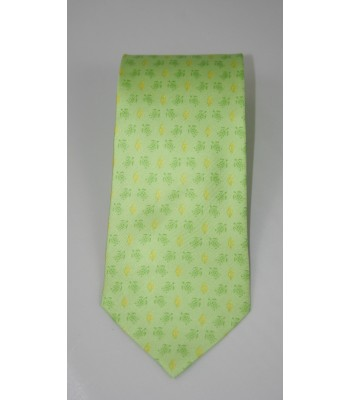 Turtles Pineda Covalin Silk Tie in Green