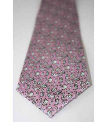 Milagritos Pineda Covalin Silk Tie in Lilac