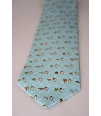Pilgrimage Pineda Covalin Silk Tie in Blue