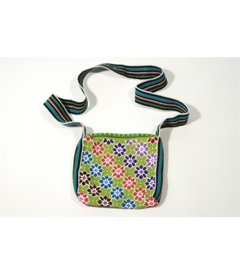 Hand Embroidered Traditional Mazahua Satchel in Assorted Colors