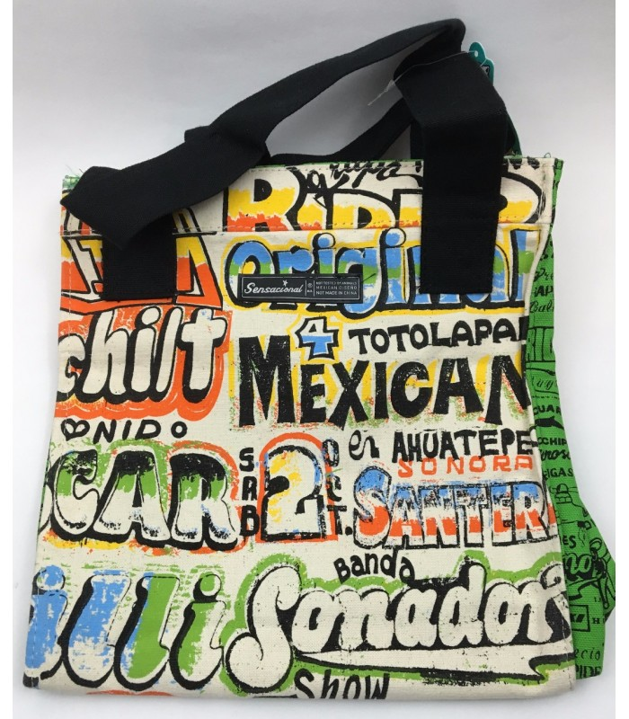 Sensacional Grupero Canvas Bag