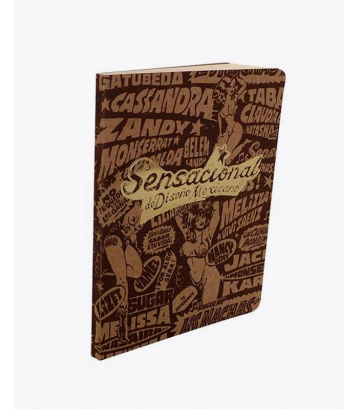 Burlesque Small Notebook