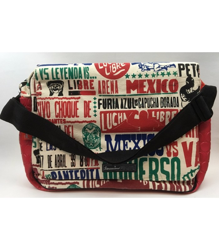 Sensacional Cartel Canvas Laptop Bag
