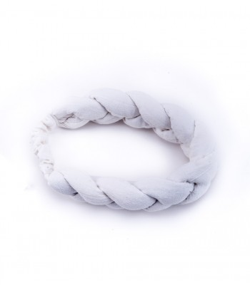 Braided Headband in Ivory