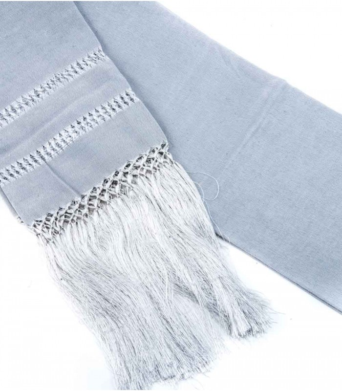 Large Shawl in Silver