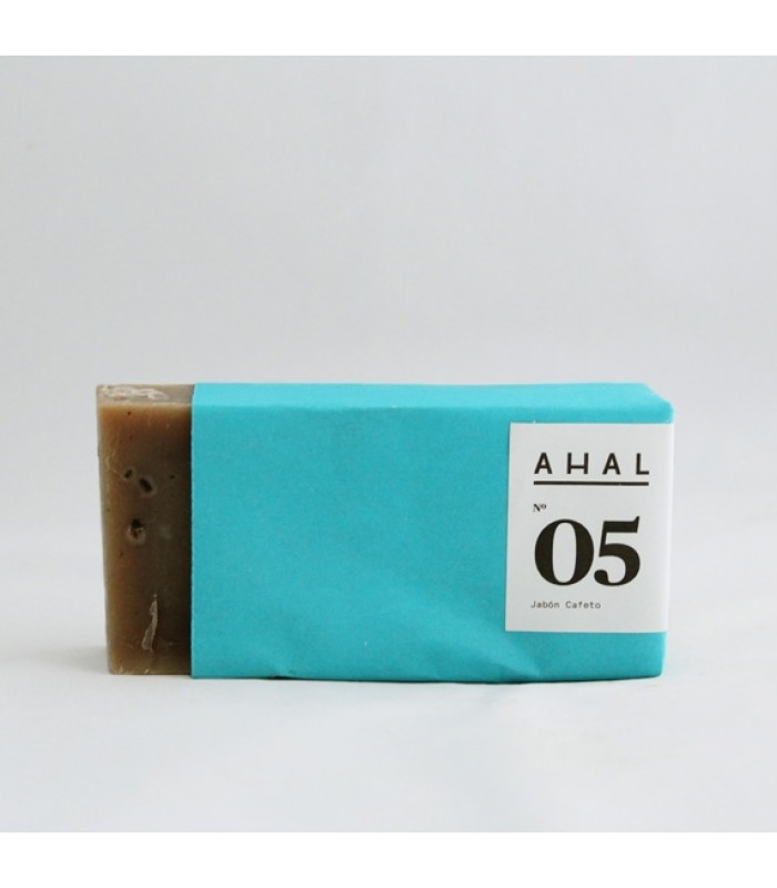 "Ahal's Scrub Soap Bar #05 ""Cafeto"""