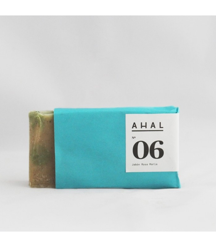 "Ahal's Scrub Soap Bar #06 ""Rosemary"""