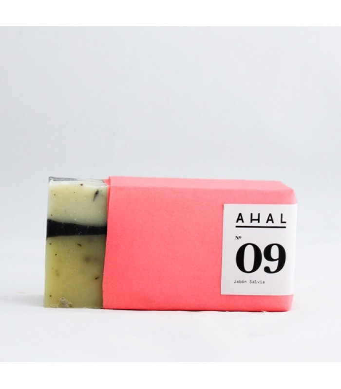 "Ahal's Soap Bar #09 ""Salvia"""