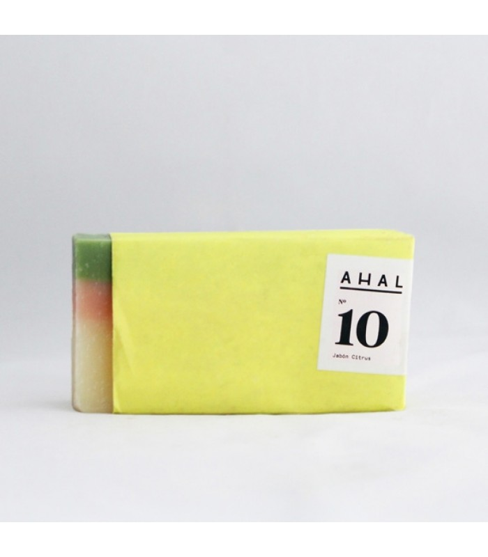 "Ahal's Soap Bar #10 ""Citrus Antiseptic and Antibacterial"""