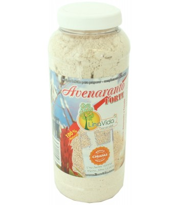 Avenamaranto-Forte, dietary supplement source of iron, fiber and calcium