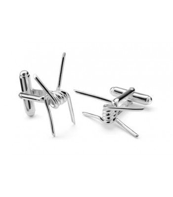 Barbed Wire .925 Silver Cufflinks
