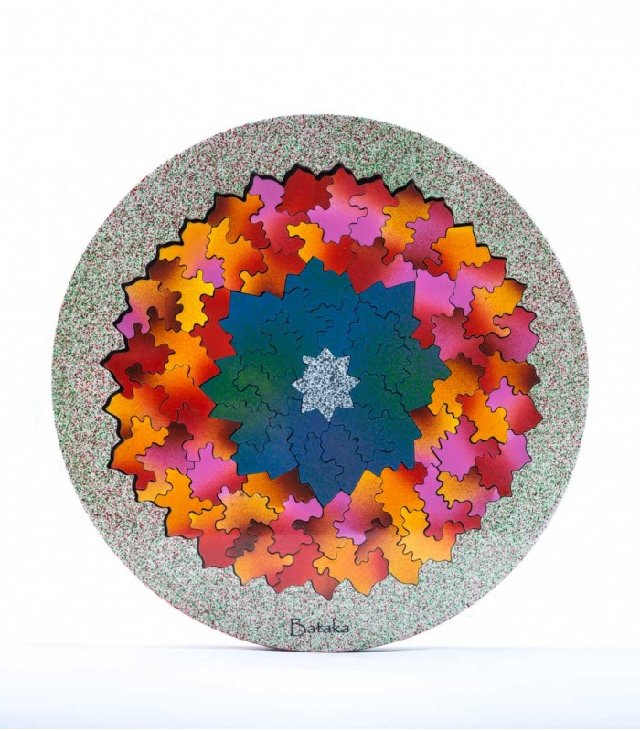Mandala with 5 Levels Artistic Puzzle