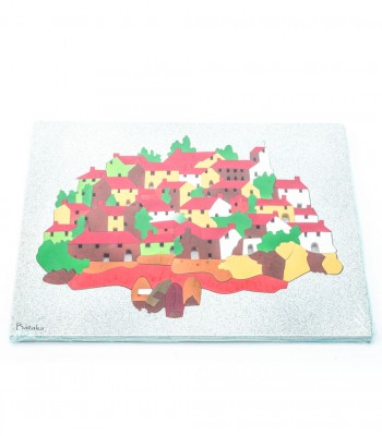 Taxco Artistic Jigsaw Puzzle