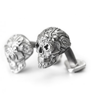 Catrina .925 Silver and Rhodium Plating Cufflinks