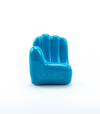 Blue Ceramic Hand Cell Holder