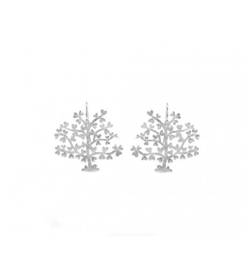 Silver Tree of Love Earrings