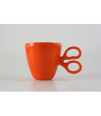 Scissor Mug in Orange