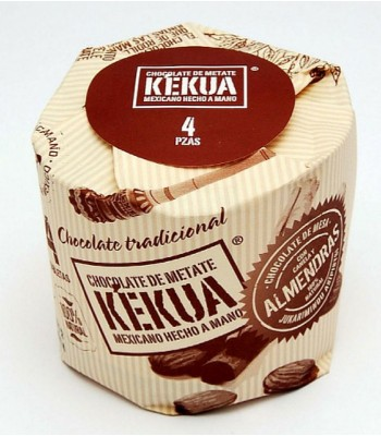 Kekua Ground Handmade Mexican Chocolate with Almonds