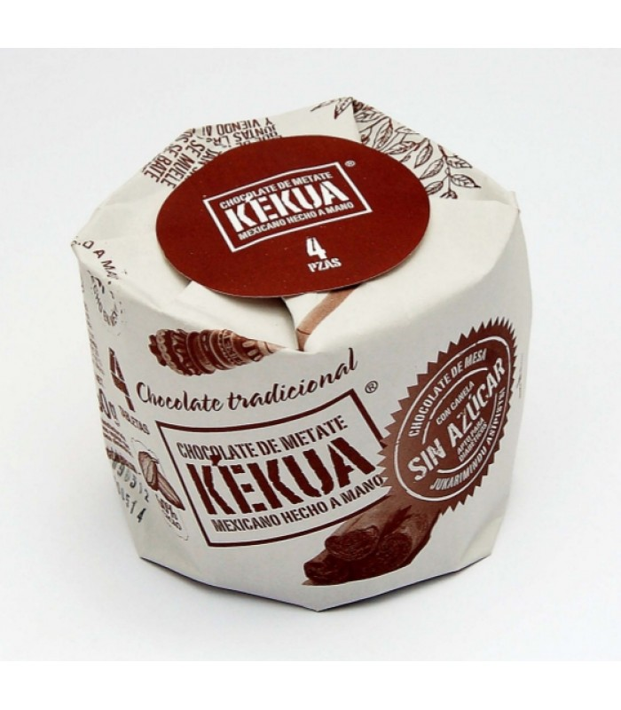 Kekua Sugar-Free Handmade Mexican Chocolate with Cinnamon