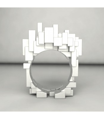 City Escapes Sterling Silver Ring