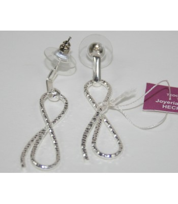 Infinite Earrings in Sterling Silver