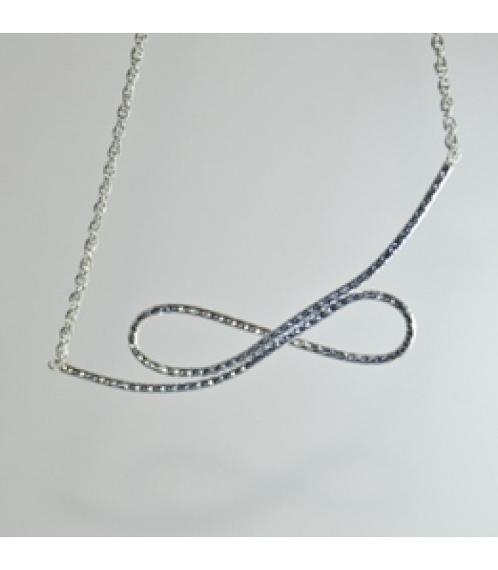 Infinite Choker in Sterling Silver
