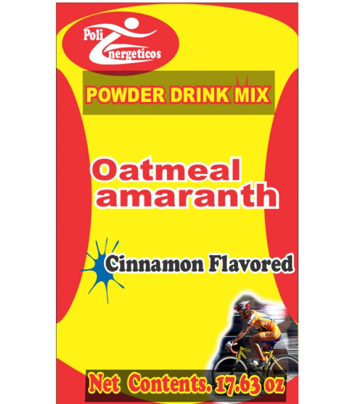 Cinnamon flavored amaranth and oatmeal dietary supplement