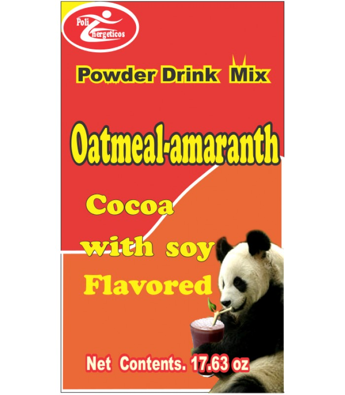 Avenamaranto, chocolate flavored dietary supplement with soy