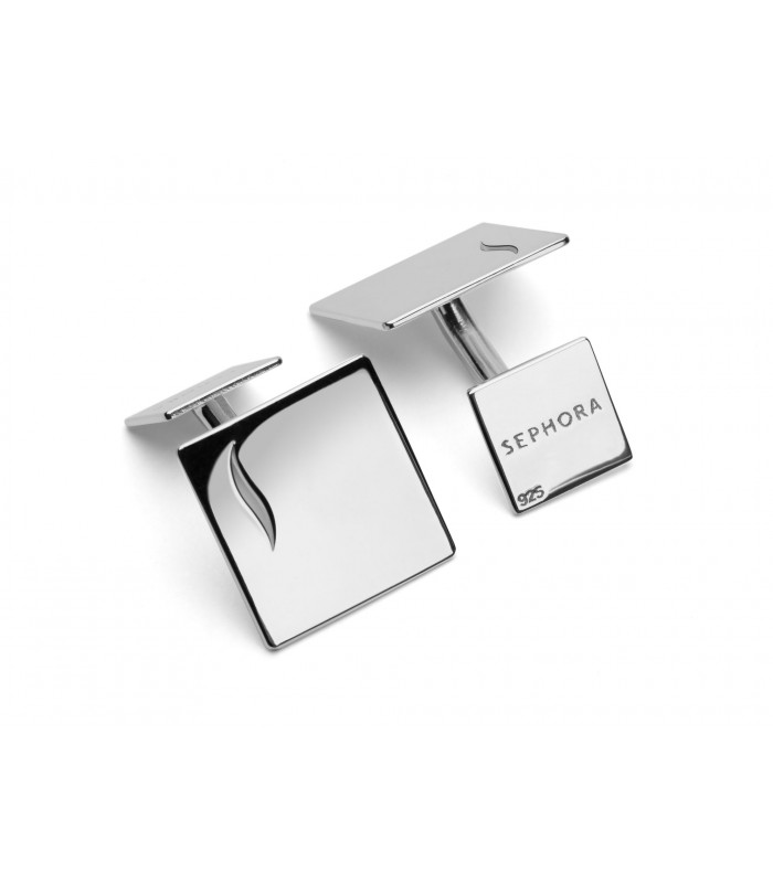 Personalized .925 Silver Cufflinks