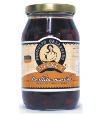 Pickled pasillita, 8oz.