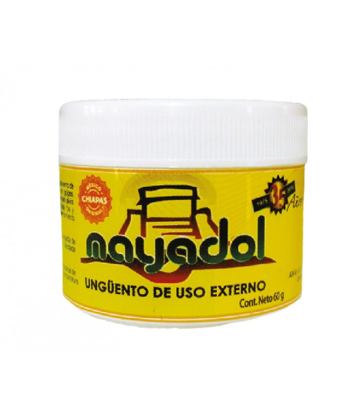 Mayadol pine oil balm, a natural analgesic
