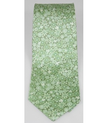 Tree of Life Pineda Covalin Silk Tie in Green
