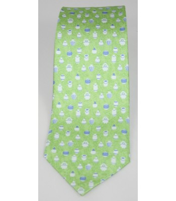 Pottery Pineda Covalin Silk Tie in Green