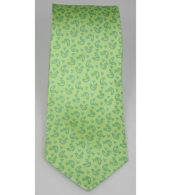 Communications Pineda Covalin Silk Tie in Green