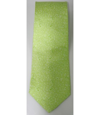 Olinala Pineda Covalin Silk Tie in Green