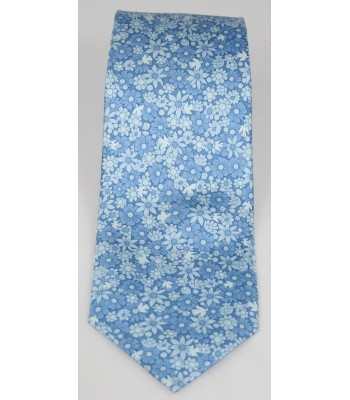 Tree of Life Pineda Covalin Silk Tie in Blue
