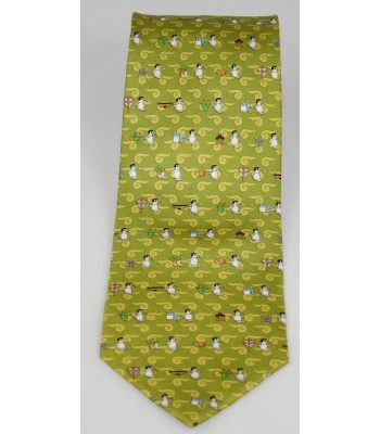 Pilgrimage Pineda Covalin Silk Tie in Green