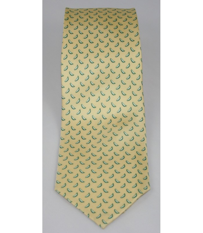 Chiles Pineda Covalin Silk Tie in Yellow