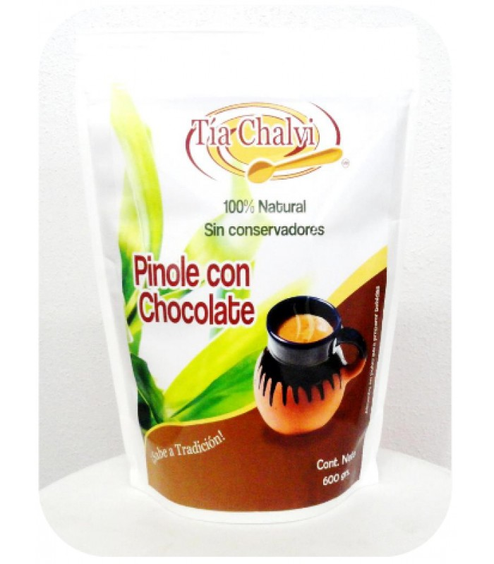 Pinole and chocolate powder to prepare beverages, 1.32 lb.