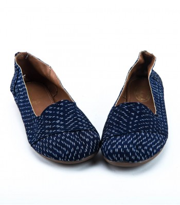 Dark Blue Women Flats