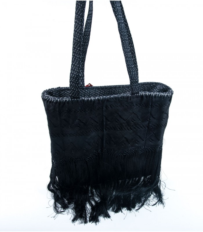 Black Rebozo Judith Bag