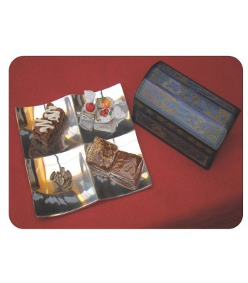 Square Pewter Tray