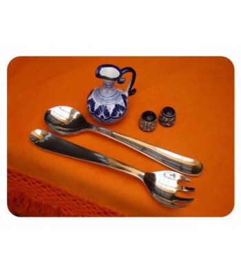 Round Pewter Serving Set