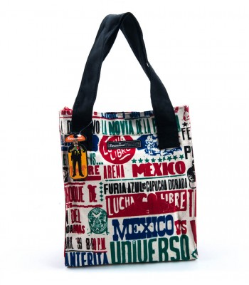 Sensacional Cartel Lucha Libre Canvas Bag