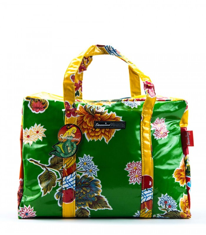 Sensacional Flowers Islas Large Briefcase